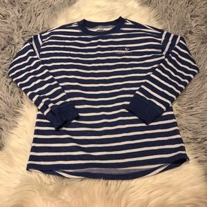 Vineyard Vines Blue Striped 2018 Girls Sweatshirt